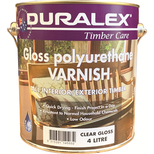 Polyurethane Varnish Gloss can